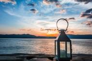 洱海日出风景图片(8张)