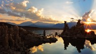 美国加州莫诺湖黄昏风景图片(13张)