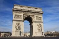法国巴黎凯旋门图片(13张)