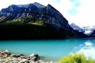 加拿大路易斯湖风景图片(7张)