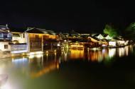 浙江乌镇夜景图片(19张)