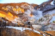 日本北海道地狱谷风景图片(12张)