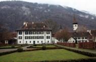 瑞士小镇因特拉肯风景图片(21张)