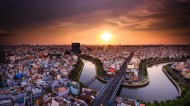 越南胡志明市风景图片(9张)