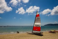 三亚亚龙湾的帆船图片(8张)