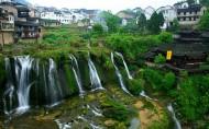 湖南湘西芙蓉镇风景图片(12张)