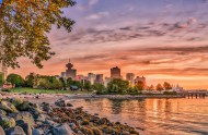 加拿大温哥华码头风景图片(10张)