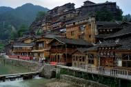 贵州西江千户苗寨风景图片(15张)