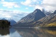 西藏然乌湖风景图片(9张)