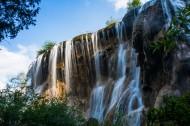 四川九寨沟珍珠滩瀑布图片(11张)