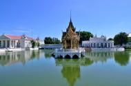 泰国邦芭茵夏宫风景图片(10张)