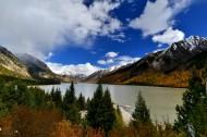 西藏拉萨河风景图片(5张)