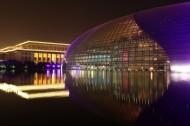 北京国家大剧院夜景图片(10张)