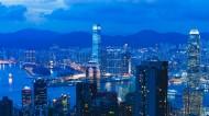 灯火通明的香港夜景图片(10张)
