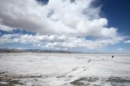 青海茶卡盐湖风景图片(16张)