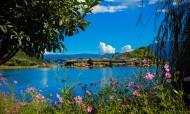 云南泸沽湖风景图片(12张)