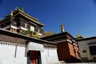 西藏扎什伦布寺风景图片(10张)
