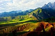 青海卓尔山风景图片(7张)