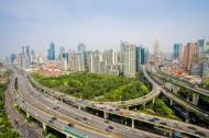 上海延安路高架桥图片(12张)