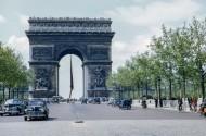 法国巴黎凯旋门图片(12张)
