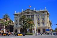 西班牙巴塞罗那哥伦布纪念广场风景图片(10张)
