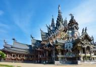 泰国真理寺风景图片(14张)