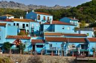 西班牙蓝精灵村风景图片(8张)