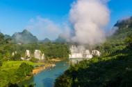 广西德天瀑布风景图片(21张)