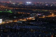 北京百望山夜景图片(7张)