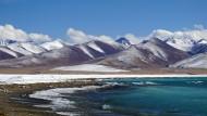 西藏纳木错风景图片(8张)