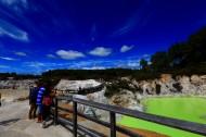 新西兰香槟池地热风景图片(11张)