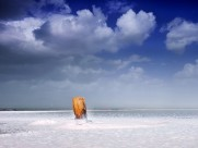 茶卡盐湖风景图片(10张)