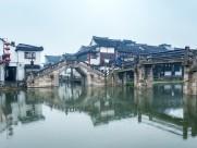 烟雨西塘古镇图片(8张)