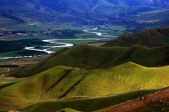 新疆喀拉峻草原风景图片(17张)