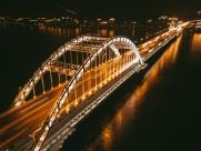 城市大桥夜景图片(13张)