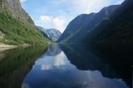 挪威松娜峡湾风景图片(12张)
