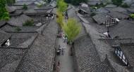 四川阆中古镇风景图片(14张)