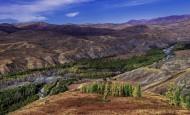 新疆阿勒泰原始古朴的齐巴契列克风景图片(14张)