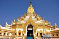 缅甸仰光佛牙塔风景图片(13张)