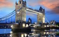 伦敦塔桥风景图片(11张)