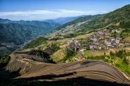 广西龙脊梯田风景图片(20张)