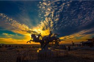 新疆布尔津七彩滩风景图片(18张)