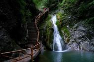陕西商洛金丝大峡谷风景图片(20张)