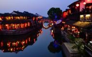 西塘夜景图片(13张)