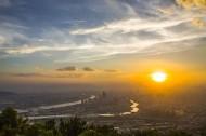 福建福州夕阳风景图片(9张)