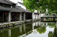 苏州黎里古镇风景图片(12张)