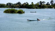 老挝四千美岛风景图片(14张)