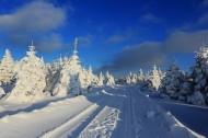 吉林延吉和龙老岭雪景图片(14张)