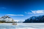加拿大班芙小镇冬季景色图片(20张)