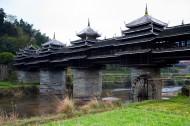 广西三江城阳风雨桥图片(5张)